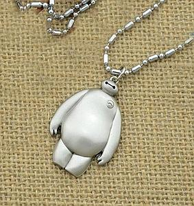 Big Hero 6 Necklace Metal Baymax