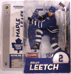 NHL Sportspicks Series 9 Brian Leetch (Toronto Maple Leafs) Blue