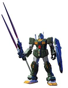 Gundam High Grade Universal Century 1/144 Scale Model Kit: #72 RGM-79FP GM Striker