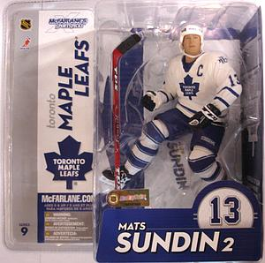 NHL Sportspicks Series 9 Mats Sundin (Toronto Maple Leafs) White