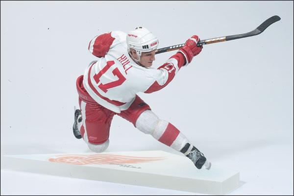 promo code bb805 49ca8 NHL Sportspicks Series 2 Brett Hull (Detroit Red Wings) White Jersey