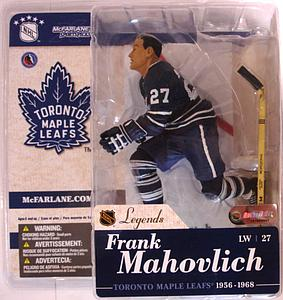 NHL Sportspicks Legends Series 1 Frank Mahovlich (Toronto Maple Leafs) Blue Jersey