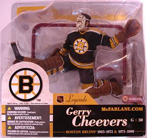 NHL Sportspicks Legends Series 1 Gerry Cheevers (Boston Bruins) Black