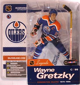 NHL Sportspicks Legends Series 1 Wayne Gretzky (Edmonton Oilers) Blue
