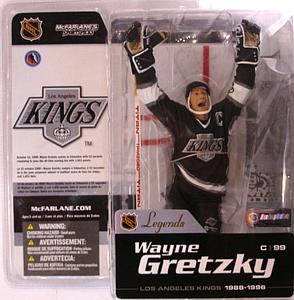 NHL Sportspicks Legends Series 1 Wayne Gretzky (Los Angeles Kings) Black
