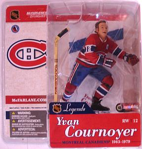 NHL Sportspicks Legends Series 1 Yvan Cournoyer (Montreal Canadiens) Red