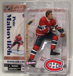 NHL Sportspicks Legends Series 3 Pete Mahovlich (Montreal Canadiens) Red