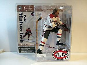 McFarlane NHL Sportspicks Legends Series 3 Pete Mahovlich (Montreal Canadiens) White Jersey Variant