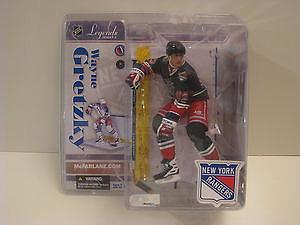 NHL Sportspicks Legends Series 3 Wayne Gretzky (New York Rangers) Dark Blue (Liberty 3rd Jersey) Jersey Variant