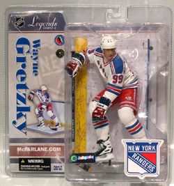 NHL Sportspicks Legends Series 3 Wayne Gretzky (New York Rangers) White