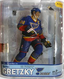 NHL Sportspicks Legends Series 5 Wayne Gretzky (St. Louis Blues) Blue