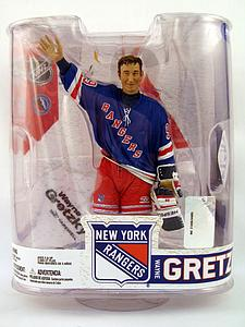NHL Sportspicks Legends Series 6 Wayne Gretzky (New York Rangers) Blue