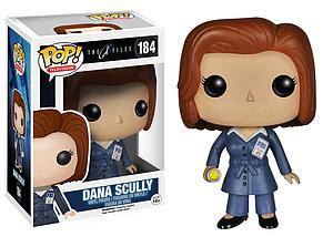 Pop! Television The X-Files Vinyl Figure Dana Scully #184 (Retired)