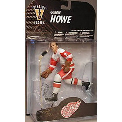 McFARLANE NHL Legends Series 7 Gordie Howe (Detroit Red Wings) White Jersey (Variant)