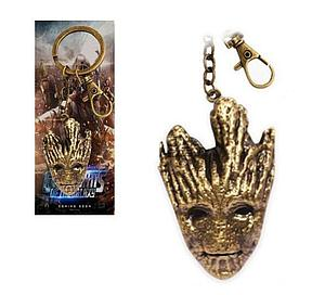 Guardians of the Galaxy Keychain Happy Groot Bronze
