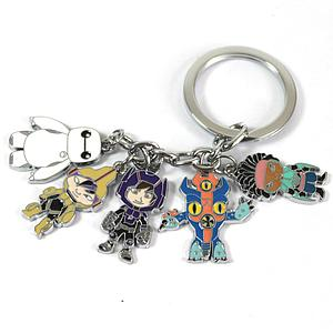 Big Hero 6 Keychain Characters