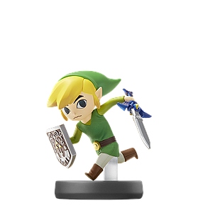 Nintendo Super Smash Bros. Amiibo Mini Figure: Toon Link