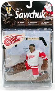 McFARLANE NHL Legends Series 8 Terry Sawchuk (Detroit Red Wings) White Jersey