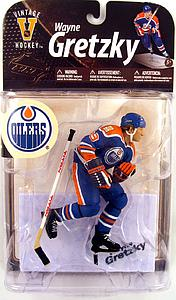 NHL Sportspicks Legends Series 8 Wayne Gretzky (Edmonton Oilers) Blue