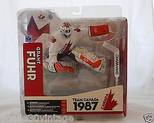 NHL Sportspicks TC Canada Cup 1987 Series Grant Fuhr (Team Canada) White