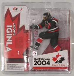 NHL Sportspicks TC World Cup of Hockey 2004 Series Jarome Iginla (Team Canada) Black