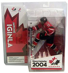 NHL Sportspicks TC World Cup of Hockey 2004 Series Jarome Iginla (Team Canada) Red Jersey Variant