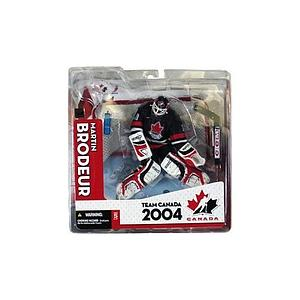 NHL Sportspicks TC World Cup of Hockey 2004 Series Martin Brodeur (Team Canada) Black