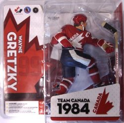 NHL Sportspicks TC Canada Cup 1984 Series Wayne Gretzky (Team Canada) Red Jersey Variant