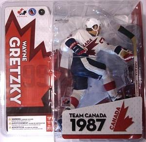 NHL Sportspicks TC Canada Cup 1987 Series Wayne Gretzky (Team Canada) White