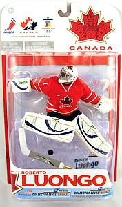 NHL Sportspicks TC Vancouver 2010 Series 1 Roberto Luongo (Team Canada) Red