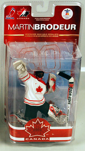 e5aa583b4 NHL Sportspicks TC Vancouver 2010 Series 2 Martin Brodeur (Team Canada)  White