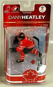 NHL Sportspicks TC Vancouver 2010 Series 2 Dany Heatley (Team Canada) Red Jersey Exclusive