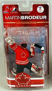 NHL Sportspicks TC Vancouver 2010 Series 2 Martin Brodeur (Team Canada) Red Jersey Exclusive
