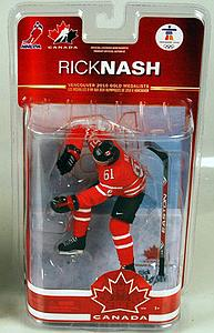 NHL Sportspicks TC Vancouver 2010 Series 2 Rick Nash (Team Canada) Red Jersey Exclusive