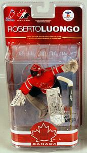 NHL Sportspicks TC Vancouver 2010 Series 2 Roberto Luongo (Team Canada) Red Jersey Exclusive