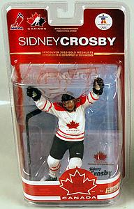 NHL Sportspicks TC Vancouver 2010 Series 2 Sidney Crosby (Team Canada) White
