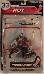 NHL Sportspicks NHLPA Series 1 Patrick Roy (Colorado Avalanche) Maroon