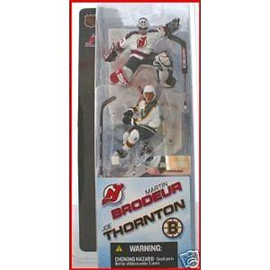 "NHL Sportspicks 3"" Series 1 Martin Brodeur/Joe Thornton"
