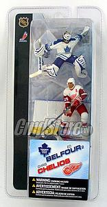 "NHL Sportspicks 3"" Series 2 Ed Belfour/Chris Chelios"