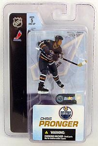 "NHL Sportspicks 3"" Series 3 Chris Pronger (Edmonton Oilers) Blue (3rd Jersey)"