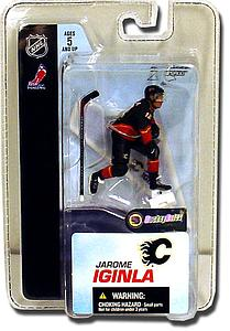 "NHL Sportspicks 3"" Series 3 Jarome Iginla (Calgary Flames) Black"