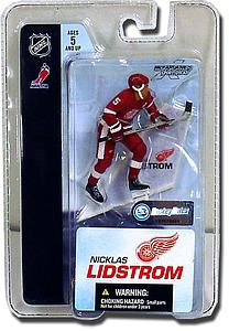 "NHL Sportspicks 3"" Series 3 Nicklas Lidstrom (Detroit Red Wings) White"