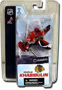 "NHL Sportspicks 3"" Series 3 Nikolai Khabibulin (Chicago Blackhawks) Red"