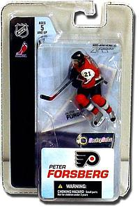 "NHL Sportspicks 3"" Series 3 Peter Forsberg (Philadelphia Flyers) Black"