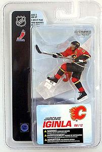 "NHL Sportspicks 3"" Series 4 Jarome Iginla (Calgary Flames) Red"