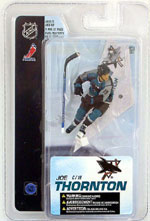"NHL Sportspicks 3"" Series 4 Joe Thornton (San Jose Sharks) Blue"