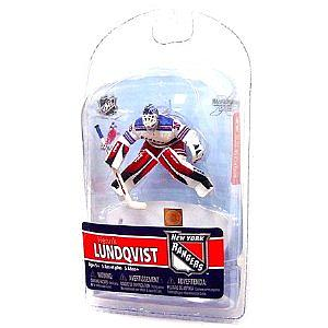 "NHL Sportspicks 3"" Series 5 Henrik Lundqvist (New York Rangers) White"