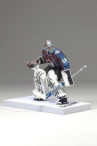 "NHL Sportspicks 3"" Series 5 Jose Theodore (Colorado Avalanche) Burgundy"