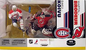 NHL Sportspicks Box Set 2-Pack Seriess Martin Brodeur/Saku Koivu