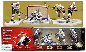 NHL Sportspicks Box Set 4-Pack Series TC Salt Lake City 2002s Mario Lemieux/Chris Pronger/Curtis Joseph/Steve Yzerman Exclusive